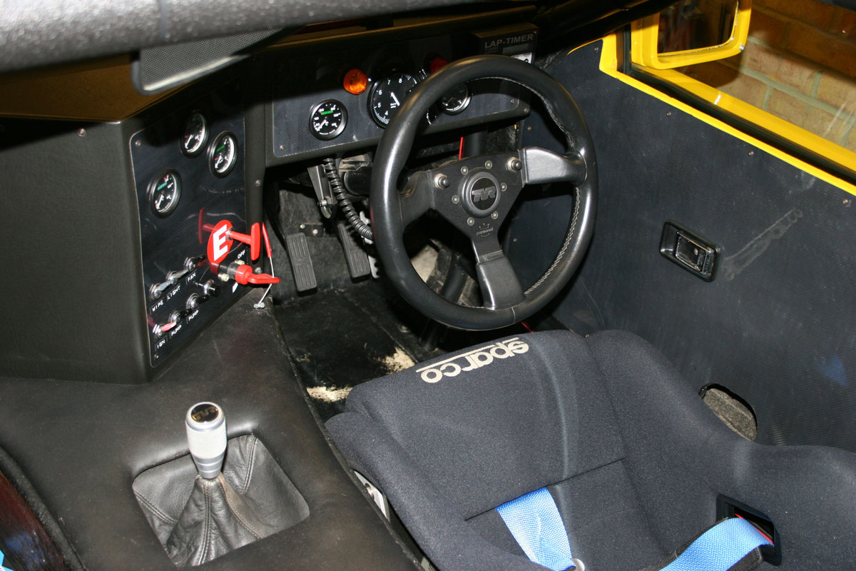 TVR SEAC racer Current interior (2007)