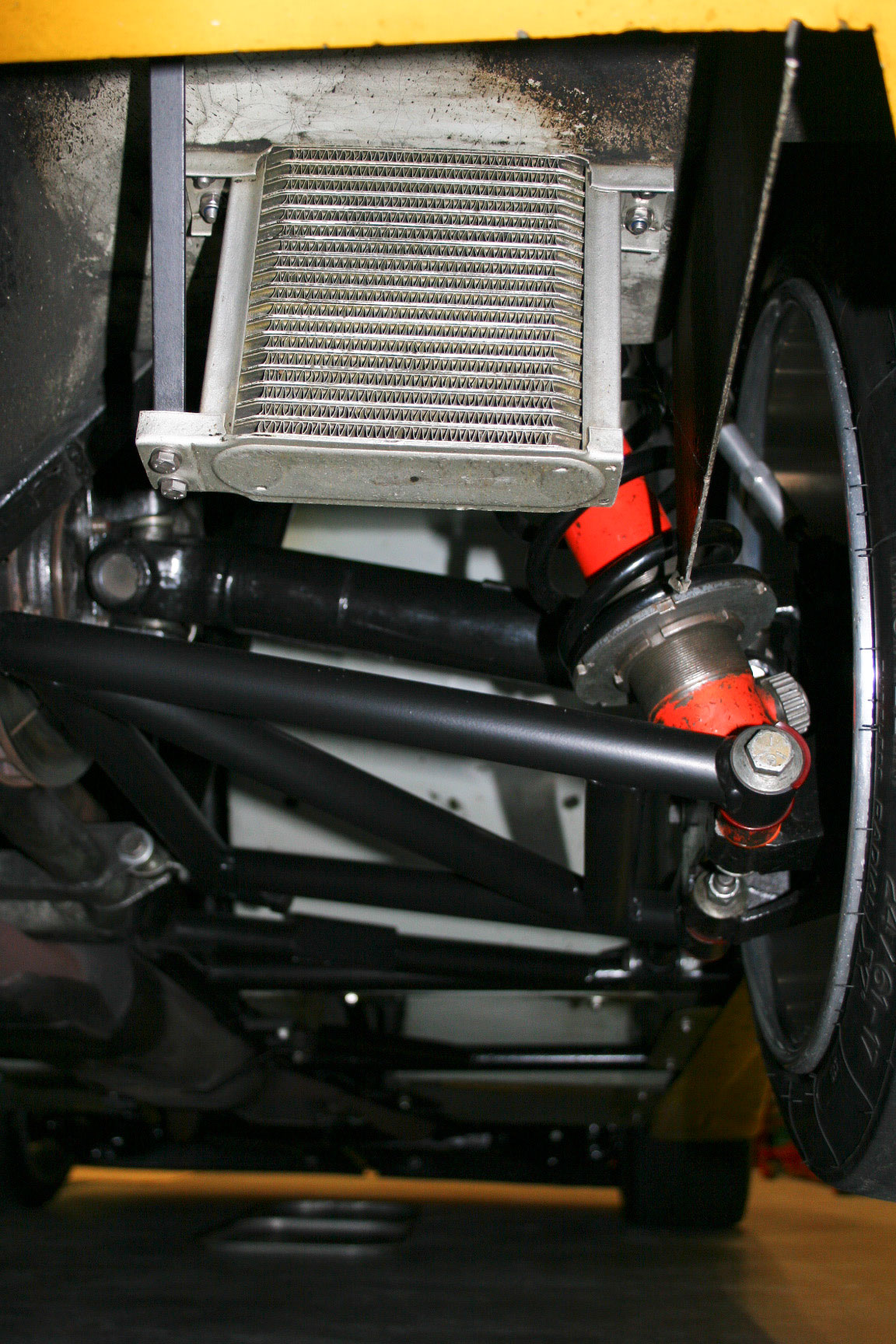 TVR SEAC racer Rear mounted differential oil cooler